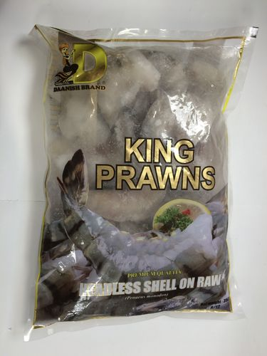 KING PRAWNS HEADLESS ON SHELL RAW